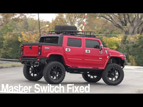 2007 Hummer H3 window switch fixed - YouTube