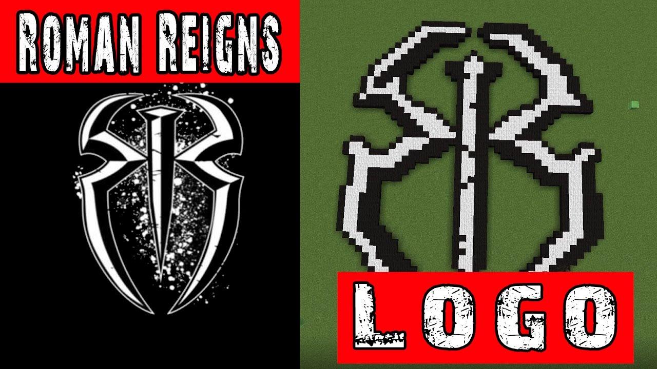 WWE Roman Reigns Minecraft Logo - YouTube