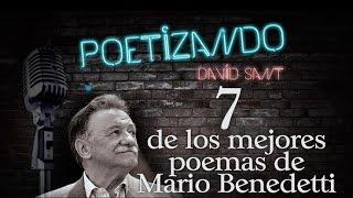 7 de los mejores poemas de Mario Benedetti
