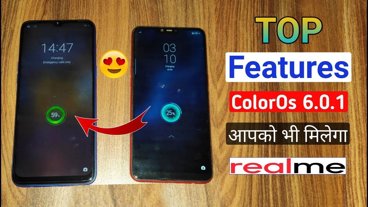 Top New Features of ColorOs 6 0 1 in RealMe Devices, New Interface & Screen  On Time etc