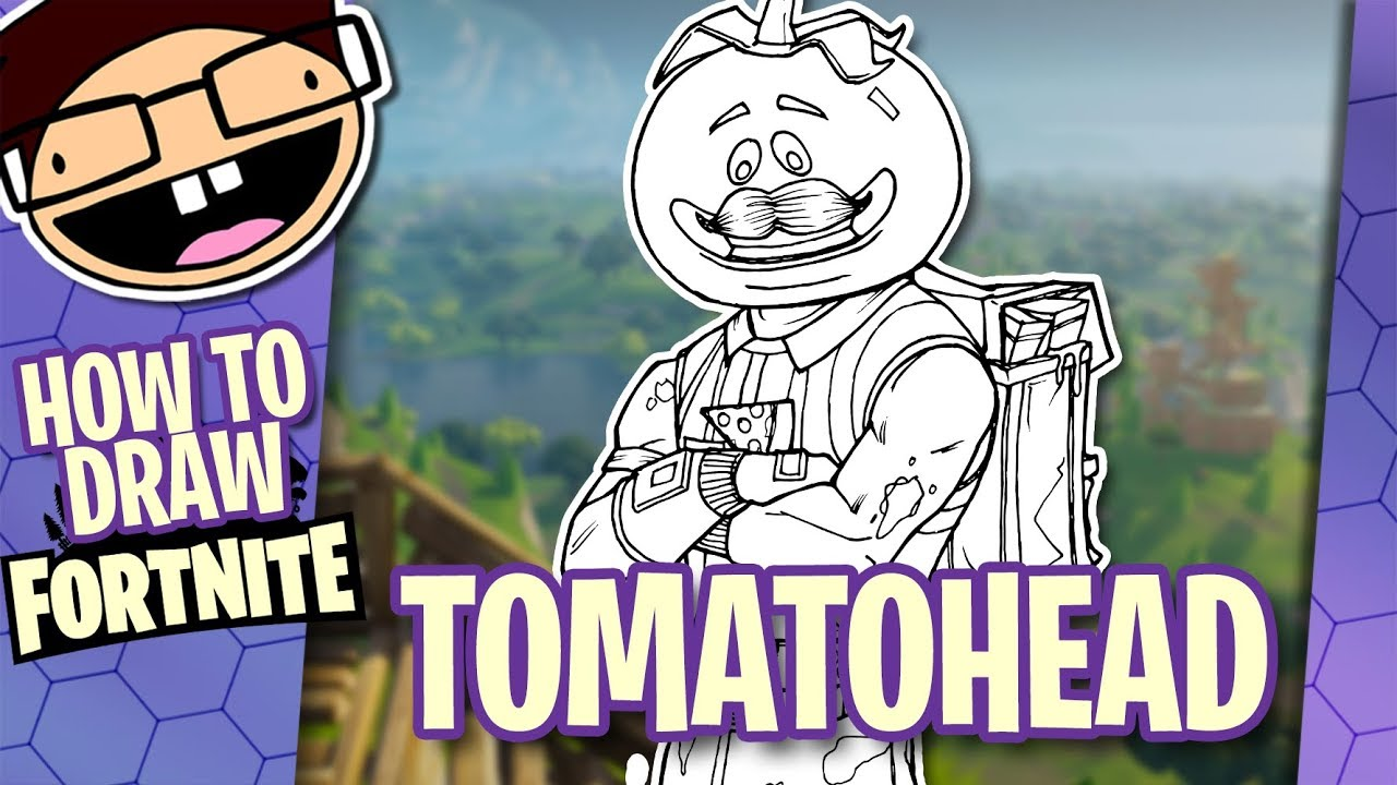 How To Draw Tomatohead Fortnite Battle Royale