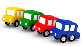 Развивающие мультики: #4МАШИНКИ 🚗 🚖! Машинки собираются в школу! Мультики для детей