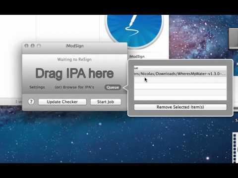 iModSign - Alternative zu iReSign - Alle Apps gratis ohne Jailbreak
