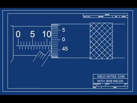 How to Read a Metric Micrometer by WeldNotes.com