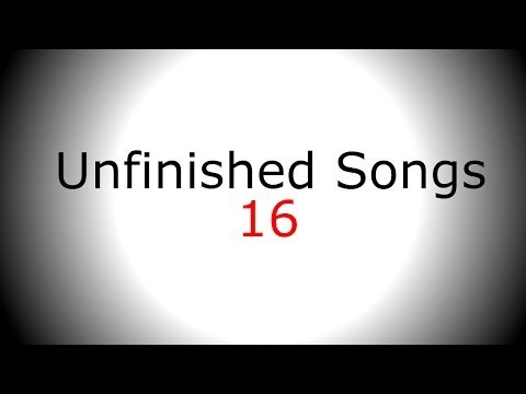 Sad Getting Happier Guitar Singing Backing Track - Unfinished Song No.16