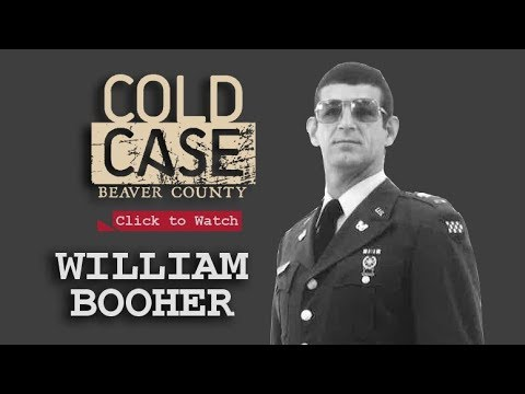 Cold Case Beaver County - William Booher
