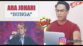 Bunga - Ara Johari   #SFMM33   SINGER REACTS