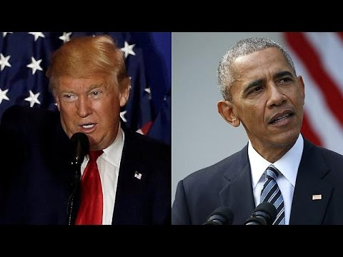 Barack obama invite donald trump la maison blanche youtube for Barack obama a la maison blanche