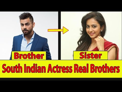 South Indian Actors & actresses Real Life Brother & sister 2018