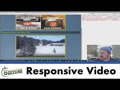 Embed Responsive Videos With YouTube Iframe And Video Tag
