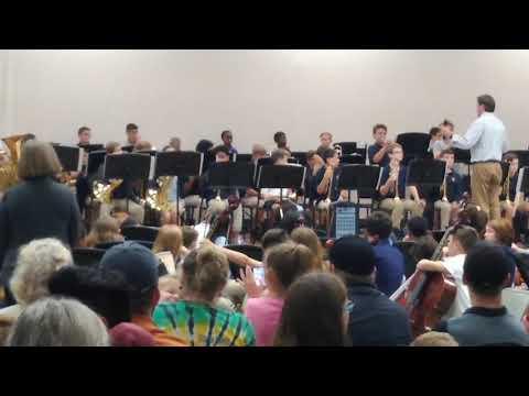 6th grade band at Koontz Intermediate School(7)