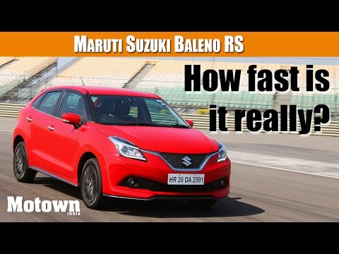 Baleno RS | How fast really is it? |