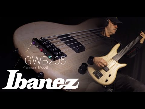 Gary Willis Demonstrates The Ibanez GWB205 Natural Flat