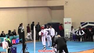 Gambar cover (1036) 63kg Muhammed Yigit vs Tolga Caliskan (2016 Turkish Junior TKD championships)