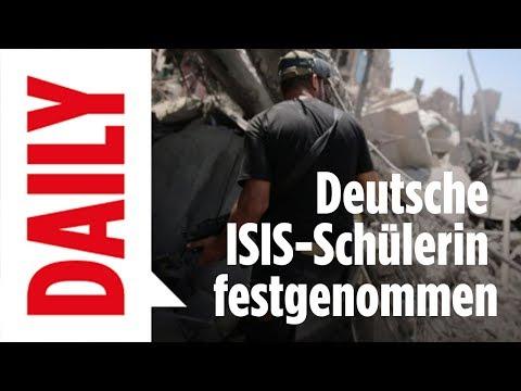 Deutsche Schülerin bei ISIS festgenommen / BILD-DAILY live 18.07.17