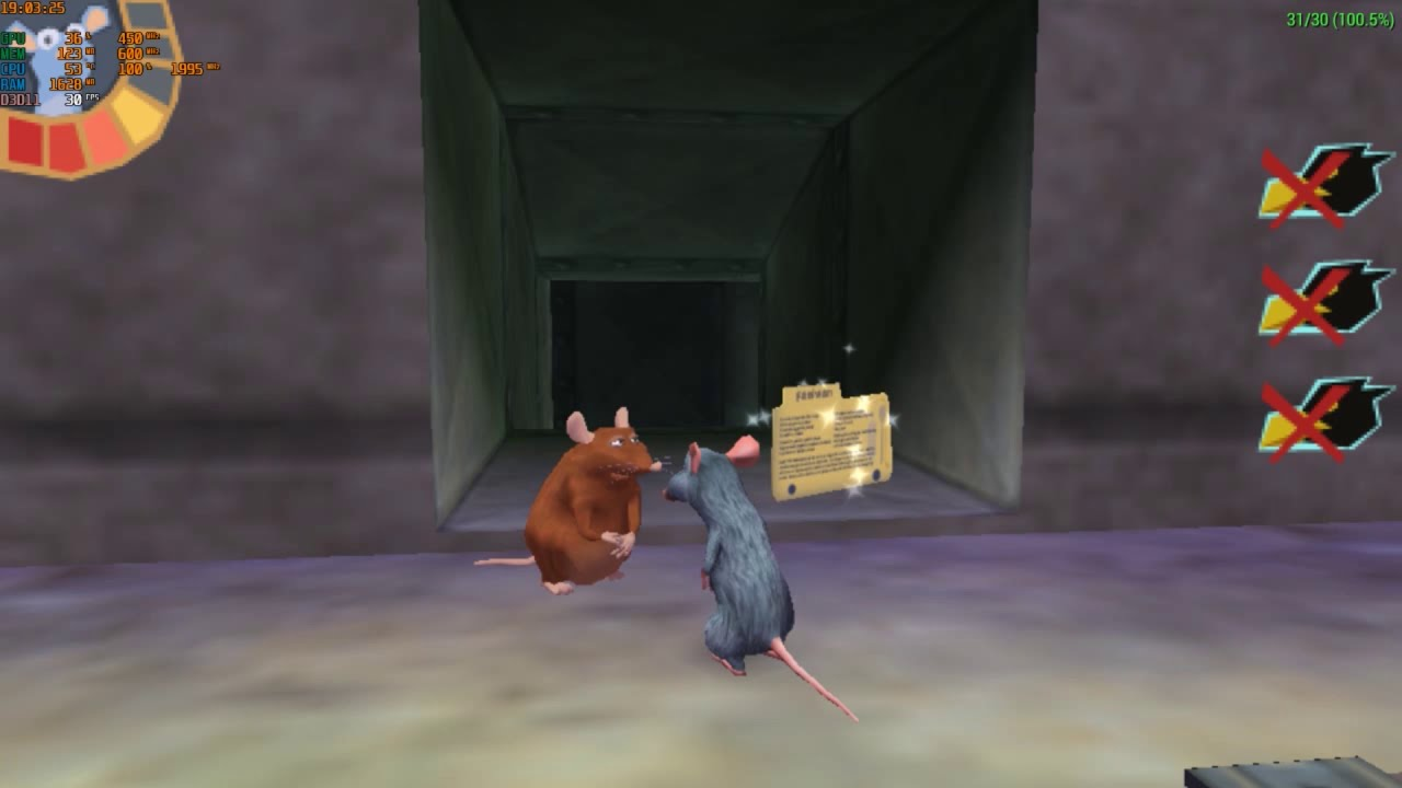 Ratatouille PSP Story Part 17 | Rooftop Level : Just a Rat and a Cage -  YouTube