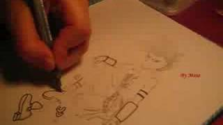 How to draw Rhysse (Dragon Quest Monsters Joker)
