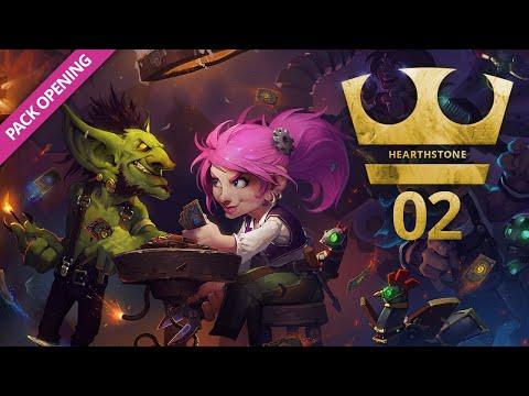 Jirka Hraje - Hearthstone 02 - PACK OPENING [ZÁZNAM]