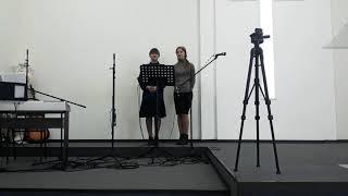 видео: Невиновна - автор Екатерина Топчий (исполнители Анастасия Шевченко, Анастасия  Еремина)