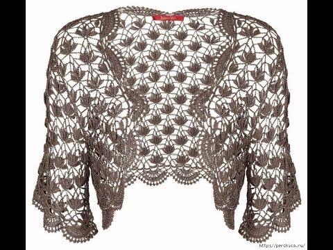 Crochet Shrug Free Crochet Patterns 365 Youtube
