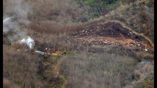 New images show Kobe Bryant's devastating helicopter crash