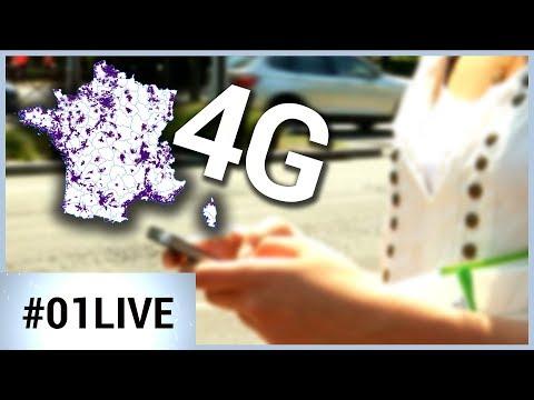 Couverture 4G : bientôt des progrès ?  01LIVE HEBDO #167