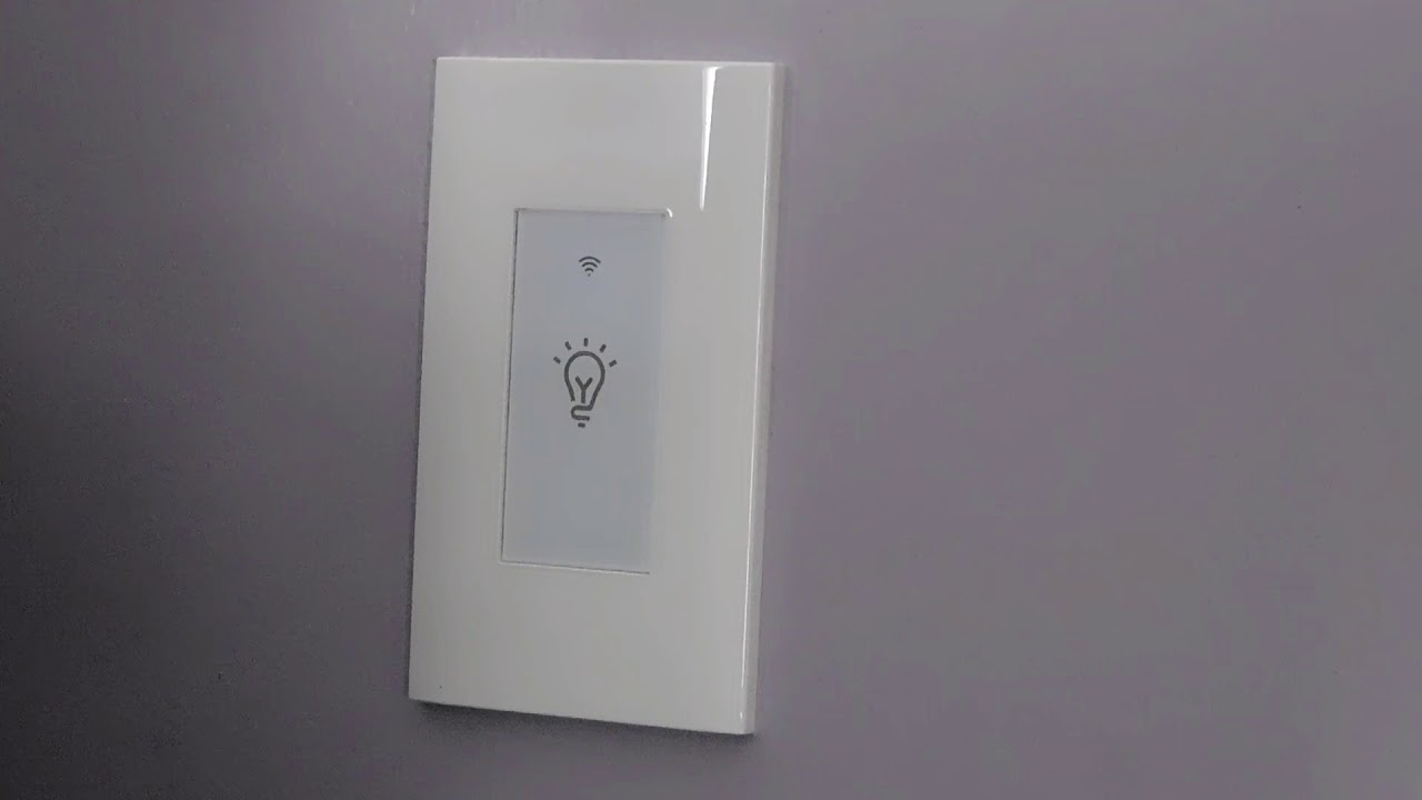 Alexa Google Home Smart Light Switch Installation Guide Youtube Wall Wiring Diagram
