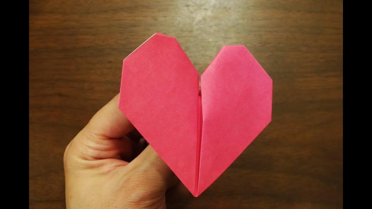 Origami Beating Heart Hd Youtube