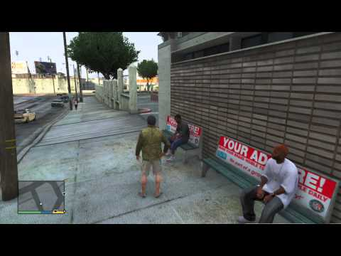 GTA V Tutorial: How to Interact With Strangers!