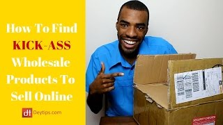 How To Find Wholesale Products To Sell Online | Wholesalers For Your eCommerce Business