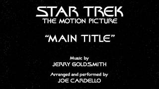 Star Trek Main Title on piano (The Motion Picture/The Next Generation)