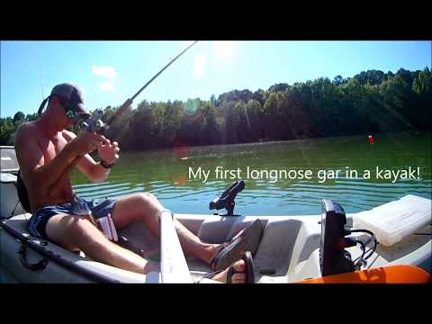 Kayak Fishing The Tar River