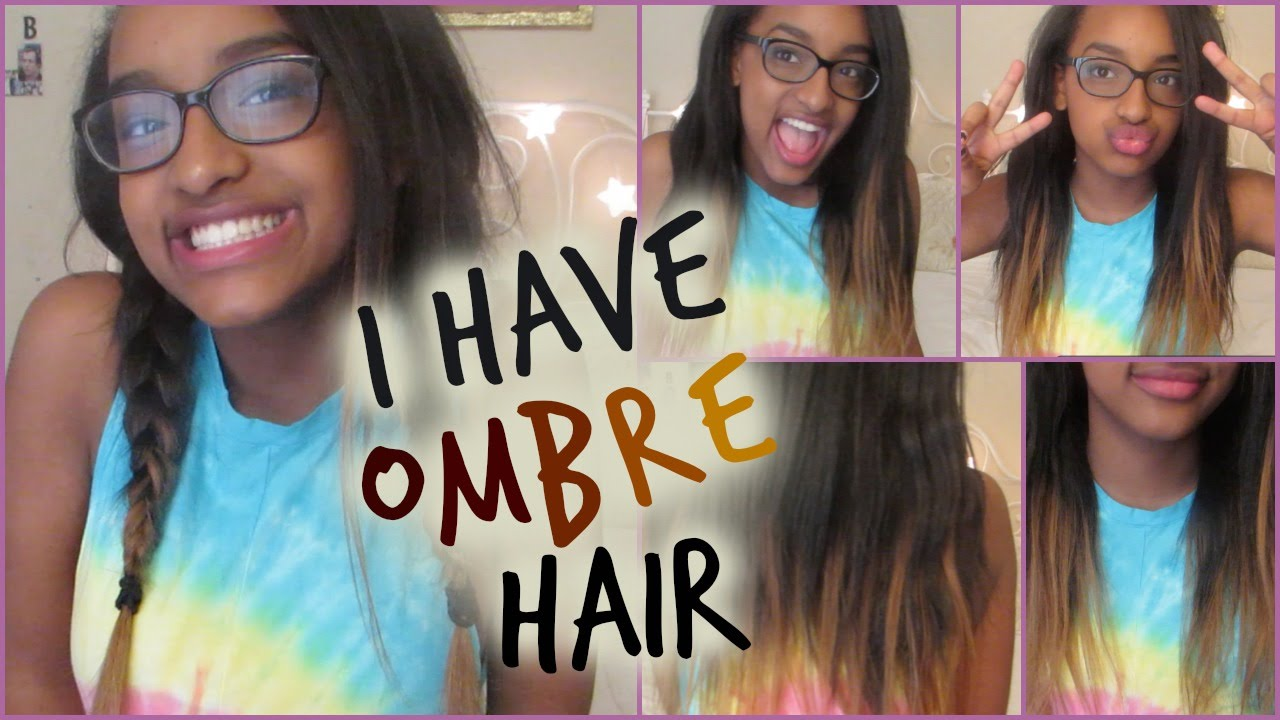 Diy temporary ombre hair stema hair youtube solutioingenieria Image collections