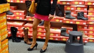 Repeat youtube video Crossdresser Loreley and AlexMuc at High Heels shopping