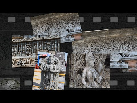 Indian Tourism places. Travel guide: Belur and Halebidu