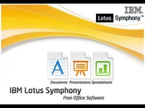 Ibm Lotus Symphony Senai Aiimmrl11t Youtube