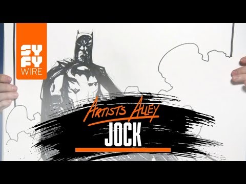Watch Comic Book Artist Jock Sketch Batman | SYFY WIRE