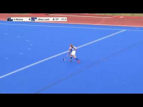 Highlights: Maine Field Hockey 5, UMass Lowell 4 (2OT)