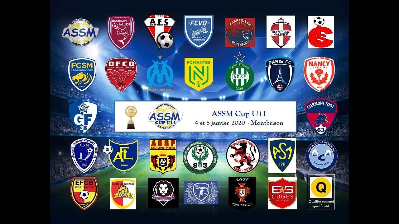 ASSM CUP U11 2020 _ tableau final _ Montbrison _ 4 et 5 janvier 2020