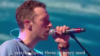 Coldplay - Up & Up Lyric konser