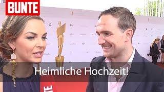 Annika Kipp & Frederick Lau: Heimliche Hochzeit! - BUNTE TV