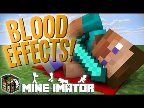 How To Make Blood Effects! | Mine-imator Tutorial