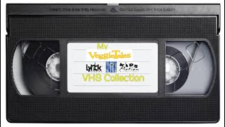 My Veggie Tales VHS Lyrick/Kids Motion/Hit Collection