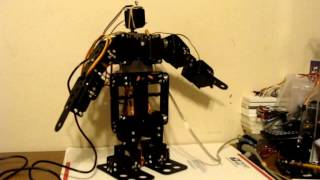 Arduino Uno 13 DOF Humanoid Robot