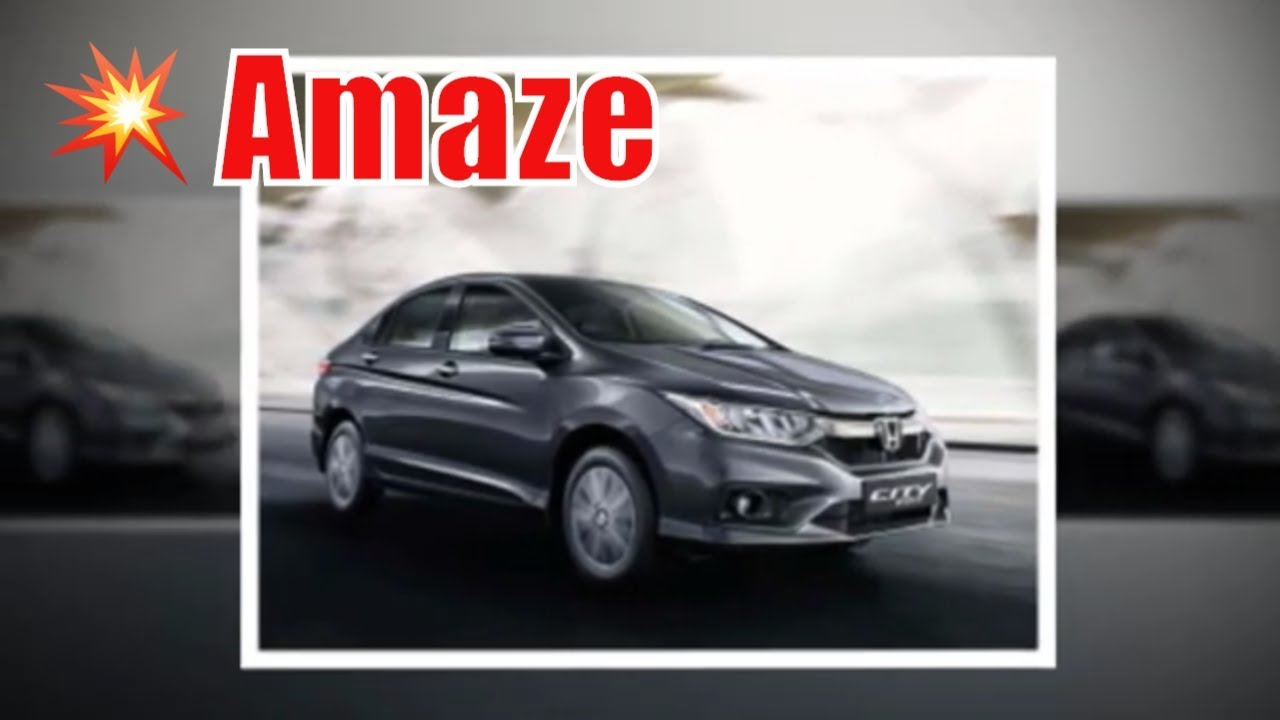 Honda amaze 2020 price in india