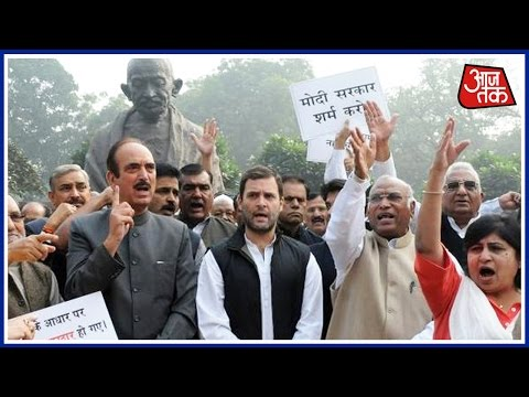Congress Protest In Delhi On Demonstration Move By Modi