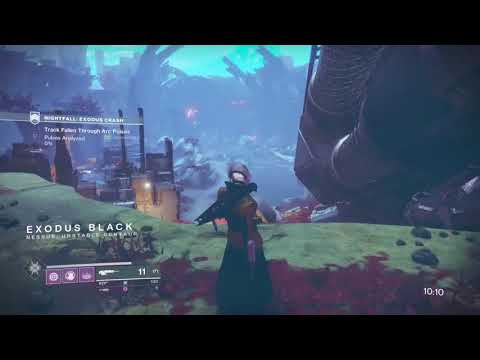Destiny 2 - Prestige Nightfall Exodus Crash Full Strike! (How To Fix Glitch)