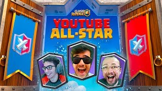 BRASIL NO CLASH ROYALE: YouTube All-Star Clan War feat. GELLI, FLAKES e NERY