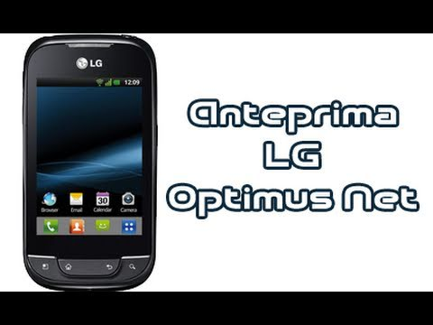 LG Optimus Net P690, anteprima in italiano by AndroidWorld.it
