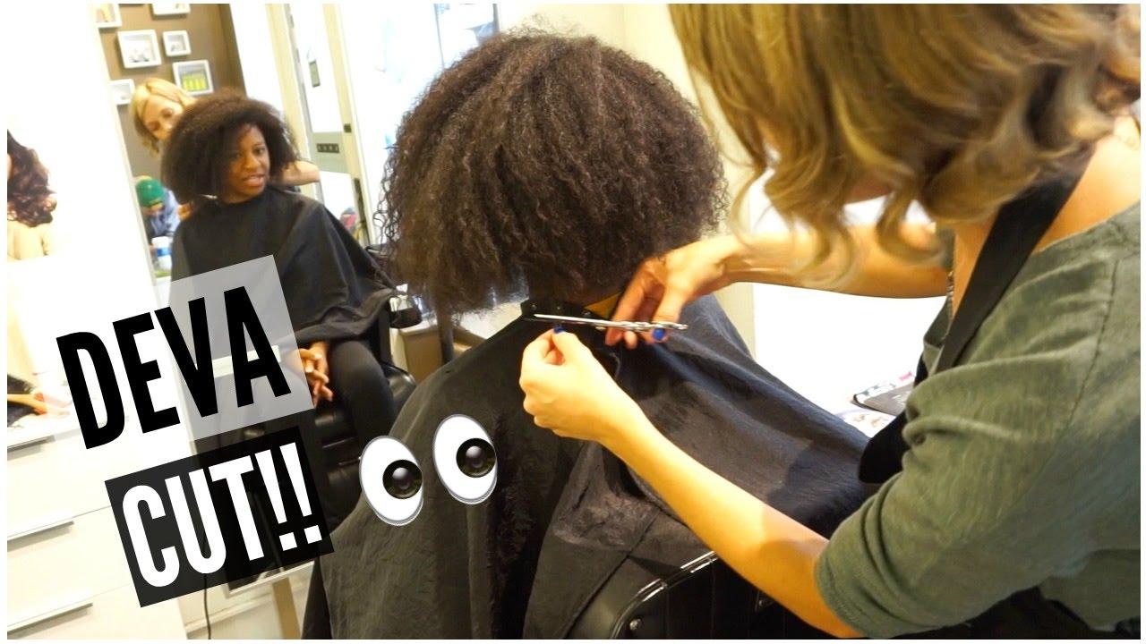 My Deva Cut I Big Chopped My Natural Hair T Keyah B Youtube